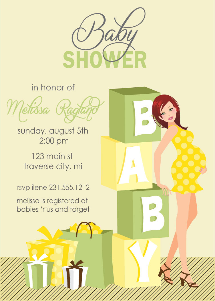 Walgreens Baby Shower Invitations was best invitation layout