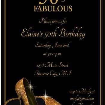 gold glitter shoes adult birthday party invitations  printable, Party invitations